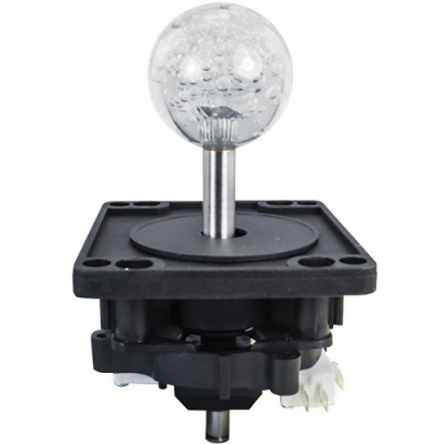 ICE Harpoon Lagoon 43MM 2-Way Ultimate Joystick w/ clear Bubbly Ball Knob - 50-0099-00 - Item Photo