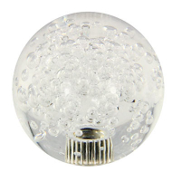 50-1555-00 - 43MM Clear Bubbly Ball Knob