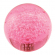 43MM Pink Bubbly Ball Knob - 50-1557-00