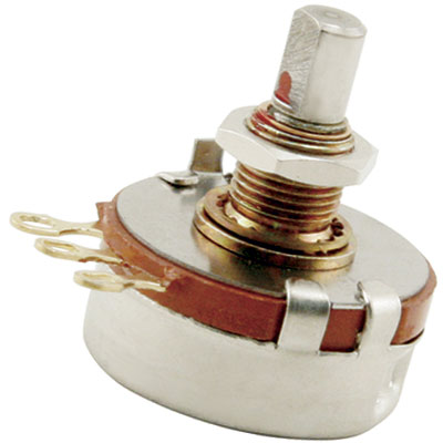 "5K Potentiometer for SUZO-HAPP Joysticks ""S"" Taper, 3/4"" Shaft - 50-2064-00 - Item Photo"
