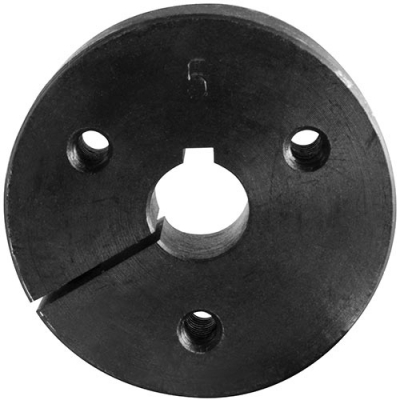 "Split Hub for 5/8"" Steering Shaft with 3 1/4-20 Tapped Holes - 50-2525-00 - Item Photo"