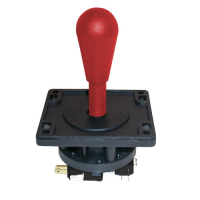 50-6070-100 - Red 8-Way Competition Joystick