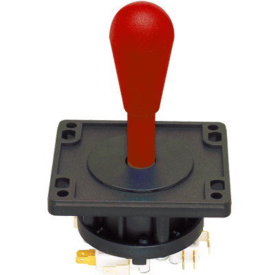 Red 8-Way ultimate Joystick - 50-7608-100 - Item Photo