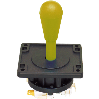 Yellow 4-Way ultimate Joystick - 50-7604-150 - Item Photo