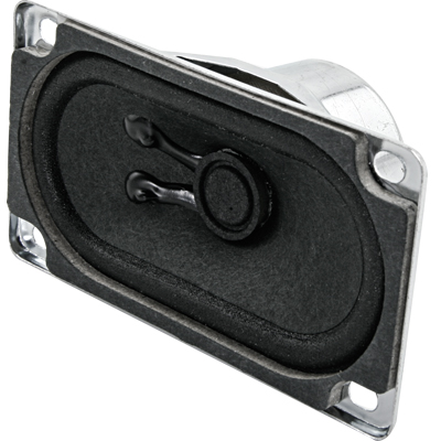 "8W Speaker with Terminals, 3-1/2"" x 2"" - 50-9020-00 - Item Photo"