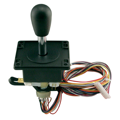 8-Way joystick with 12 position rotary switch - 50-5618-00 - Item Photo