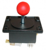 "Ms. Pacman 4-way Joystick w/ 1-1/4"" red ball knob  - 50-6084-1125R00"