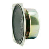 "3.5"" Shielded Speaker, 4 Ohm, 5W - 50-9000-01 - Item Photo"