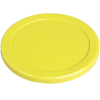 "Dynamo Air Hockey 3-1/4"" Yellow Puck - 51-0100-B"
