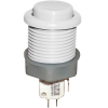 White Ultimate Pushbutton w/ .187 microswitch - 53-9200-11