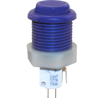 53-9200-18 - Purple Ultimate Pushbutton w/ .187 microswitch