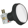Large Round White IPB, 14V #161 Lamp, .250 Microswitch - D54-0004-11