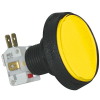 Large Round Yellow IPB, 14V #161 Lamp, .250 Microswitch - D54-0004-15