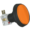 IPB LG CIR AMBER AMB CP 14V161 LAMP .250 MS NO TEXT - 75-0004-17