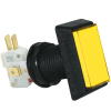 Rectanglar Yellow IPB, 14V #161 Lamp, .250 Microswitch - D54-0004-55