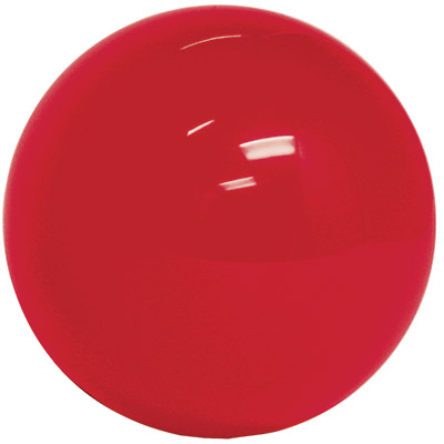 "3"" Red trackball - 55-0200-10 - Item Photo"