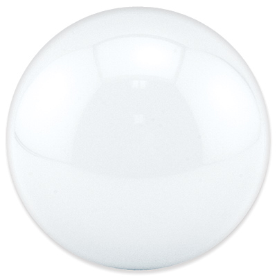 "3"" white translucent trackball - 55-0200-24 - Item Photo"