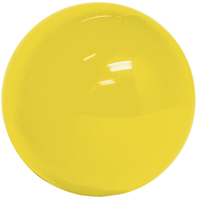 "3"" Replacement Ball - Yellow Solid - 55-0200-15 - Item Photo"