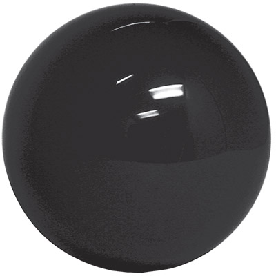 "2-1/4"" black trackball - 95-0029-16 - Item Photo"