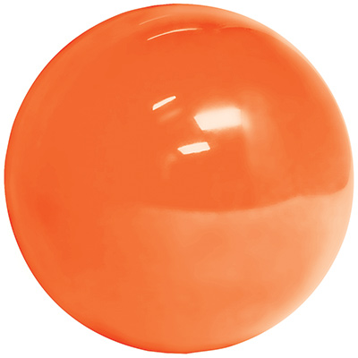 "2-1/4"" Replacement Ball - Translucent Orange/Red - 95-0029-19 - Item Photo"