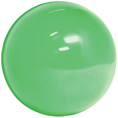 "3"" Translucent Green trackball - 55-0200-23 - Item Photo"