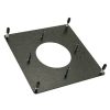 "3"" Trackball Mounting Plate Kit, Painted Black with Spacer - 55-1101-00"