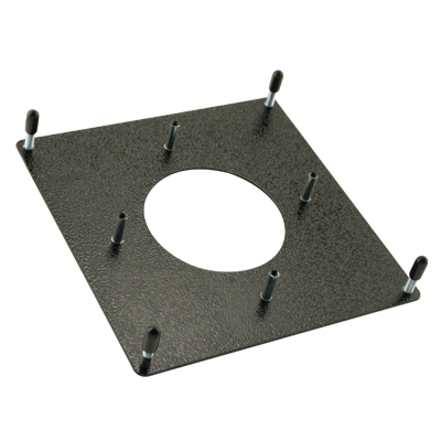 "2-1/4"" Trackball Mounting Plate Kit, Painted Black - 55-0203-00 - Item Photo"