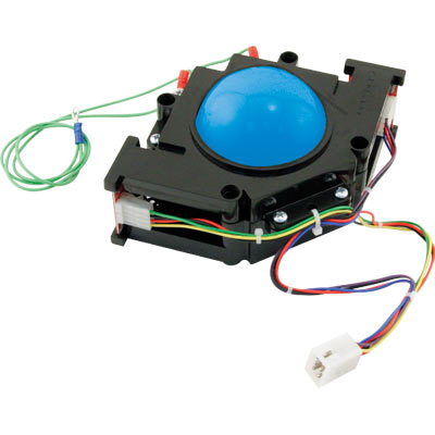 "3"" High-Ball Trackball with Harness, Blue - 56-0110-12 - Item Photo"