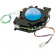 "3"" Blue Translucent High-Ball Trackball Assembly - 56-0110-12T"