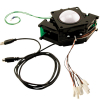 "3"" solid White Trackball assembly w/ USB & PS/2 Interface  - 56-0300-11"
