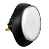 Snap-Tab Oval Illuminated Pushbutton assembly without Halo - 57-1940-02