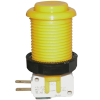 Yellow Pushbutton with Horizontal Microswitch - 58-9155-L