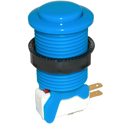 Blue Competition Pushbutton - 58-9612-L - Item Photo