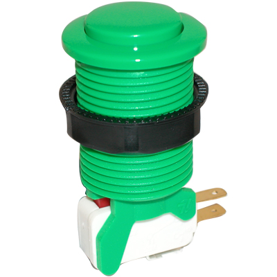 Green Competition Pushbutton - 58-9613-L - Item Photo