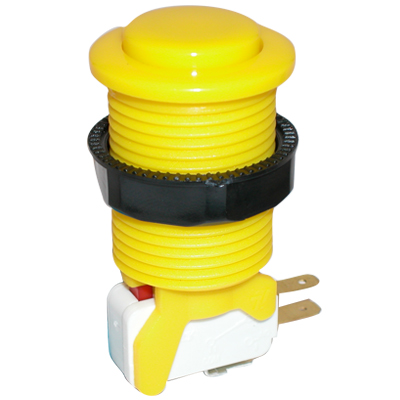 Yellow Competition Pushbutton - 58-9615-L - Item Photo