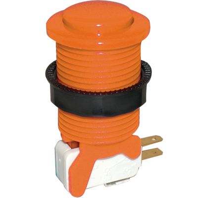 Orange Competition Pushbutton - 58-9617-L - Item Photo