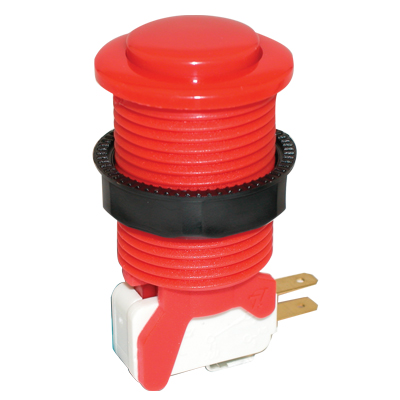 Red Competition Pushbutton - 58-9610-L - Item Photo