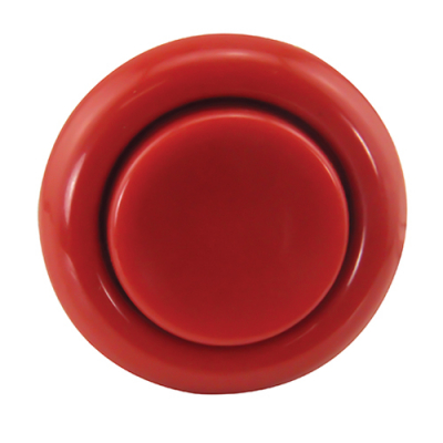 Short Red Flipper Button - 500-5026-32 - Item Photo