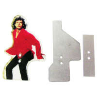 502-5094-00 - Mick Jagger Pinball Target Repair Kit - For The Rolling Stones by Stern
