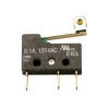 CHERRY SWITCH E63-00K 0.1AMP GOLD .25AMPS,30VDC ROLLER ACT - 53-7034-00