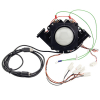 "3"" RGB Illuminated Trackball assembly w/ USB & PS/2 interface - 56-7000-24 - Item Photo"