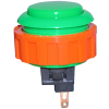 Green Momentary Contact Pushbutton - 60-1200-13