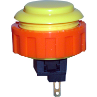 60-1200-15 - Yellow Momentary Contact Pushbutton