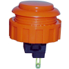 Orange Momentary Contact Pushbutton - 60-1200-17