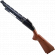 Left Gun Half for Big Buck HD Shotgun, Black with Woodgrain Butt - 600-00847-01