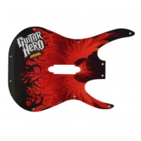 606-00114-01 - Red and White Face Plate for Guitar Hero