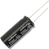 Radial Capacitor, 105 Degree, 50V, 2200MF - 62-0114-105