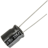 Radial Capacitor, 105 Degree, 35V, 220MF - 62-0130-105