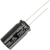 Radial Capacitor, 105 Degree, 25V, 2200MF - 62-0178-105
