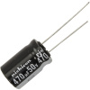 Radial Capacitor, 105 Degree, 50V, 470MF - 62-0375-105